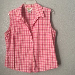 Talbots sleeveless shirt